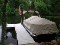 Traditions Pontoon Cover